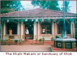 the khalir makam or sanctuary of khidr