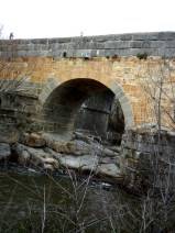 And the old stone bridge heading back to town.