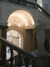 The Archaeology museum was another clean, quiet, interior space which provided a refuge from the street.