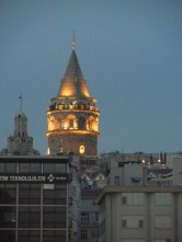 The Galata tower - relic of the Genovese colonial days.