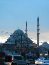 Mosque vs Traffic.
