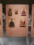 I enjoy the Byzantine art form. The images of Jesus and Mary are consistent (to a fault) so it was wonderful to see a wider selection gathered here.