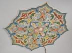 The local Izmir tile is multi colored and clearly distinct from the more pervasive and famous Iznik tile.