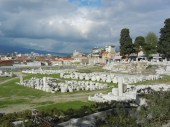 The ancient roman forum. Despite its modern apearance in most areas, Izmir is more than 3000 years old.