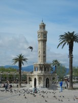 The Konakj Clocktower is a landmark on the very pretty shorefront promenade.