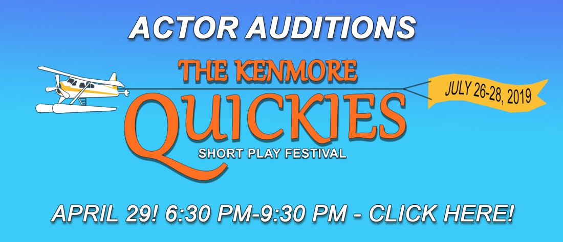 The Kenmore Quickies Audition Page