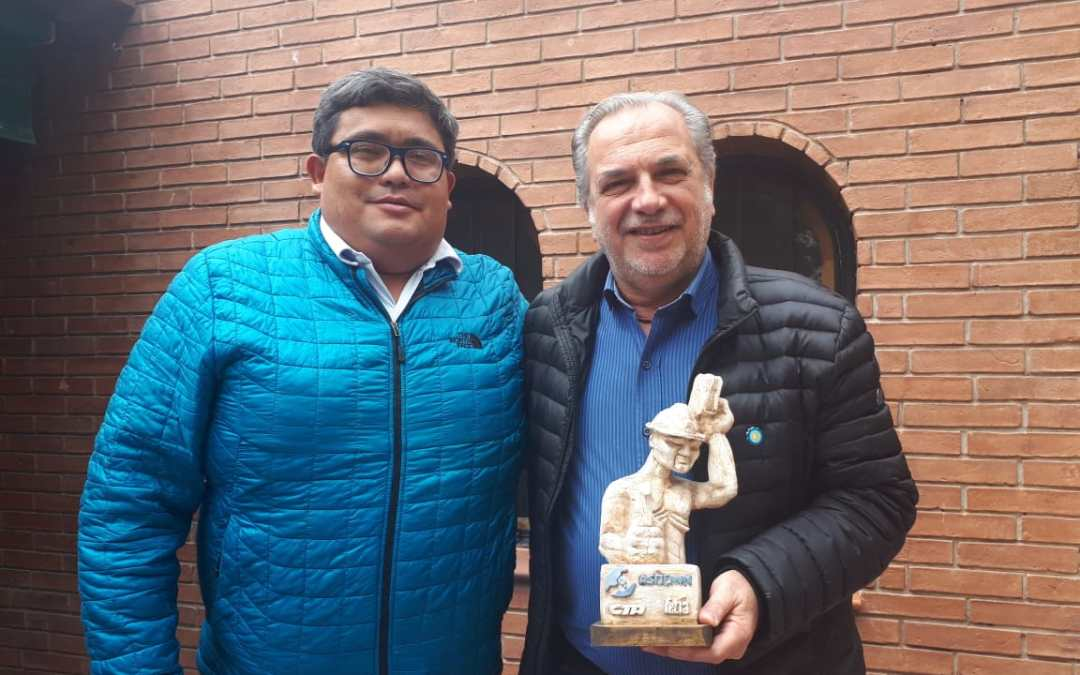 ASIJEMIN recibió la visita de Rubén Pascolini, referente de los equipos técnicos de vivienda y hábitat del Instituto Patria