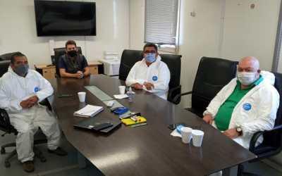 ASIJEMIN visitó yacimientos mineros de Santa Cruz y dialogó con los trabajadores