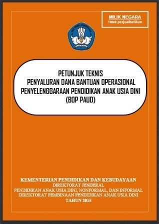 Juknis Penyaluran Dana Bantuan PAUD 2015