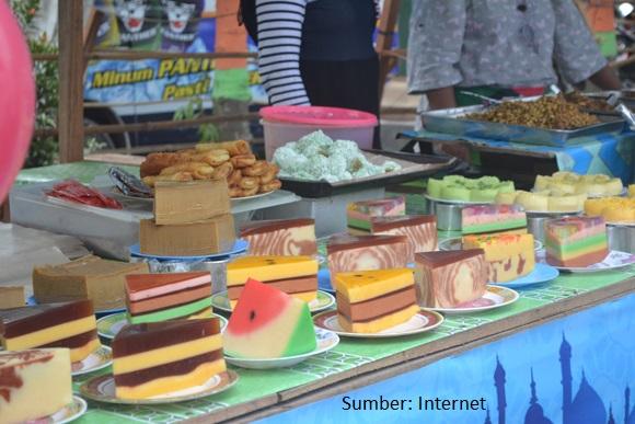 Uniknya Budaya Pasar Wadai Ramadhan Banjarmasin