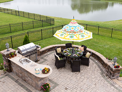 backyard landscaping ideas for high end