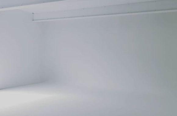 白ホリゾントのスペース完成しました