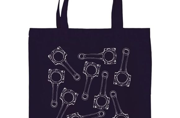 Connecting Rod Totebag.https://suzuri.jp/ESPARTO.