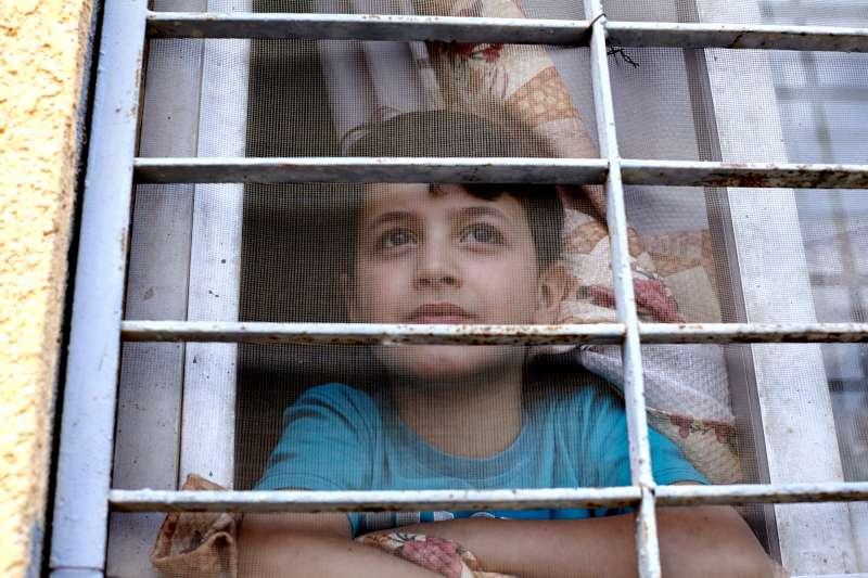 Mahmoud, Syrien, 9 ans
