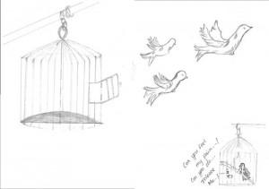 Poésie et dessin de R. Nauru 2013/14