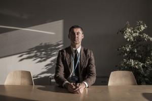 Boris Cheshirkov, porte-parole UNHCR. Photo: Alberto Campi, 2014
