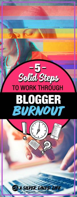 5 tips to avoid blogger burnout and work through it! An awesome blog post for beginners who are starting a blog, those who blog for money or for bloggers who are just burning out. These 5 straight to the point ideas and tips will help motivate you and give you inspiration to move forward and get out of that rut!