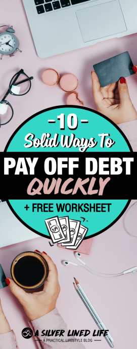 How to pay off debt quickly: from credit card debt to loan debt, check out this AMAZING post + printables. All the tips you need including Dave Ramsey advice, stories, motivation, a wonderful tracker, and strategies. Become debt free and have a debt free living with financial freedom. #SLL #debtfree #payoffdebt #financialfreedom #daveramsey