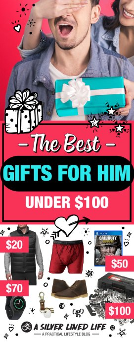 Gifts for boyfriend, gifts for him, gifts for men and gifts for dad, ALL HERE. This is the very BEST LIST EVER! I surveyed dozens of men and asked what Christmas, birthday, anniversary, Valentines etc. they would absolutely love. These ideas are unique, cool and range from cheap to high quality. The very best gifts for men by men! So very glad I did this survey. I learned so much! #SLL #christmas #christmasgifts #gifts #men