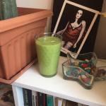 Batido verde desintoxicante