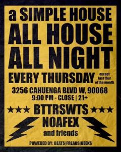 A Simple House Music Night