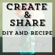 Create & Share DIY and Recipe Party with Three in Three
