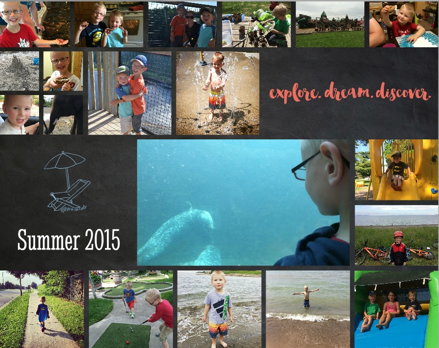 101 Things to Do This Summer - Completed