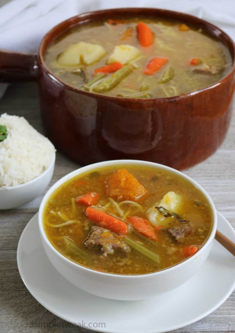 Spanish Style Beef Soup