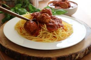 Pasta with Meatballs