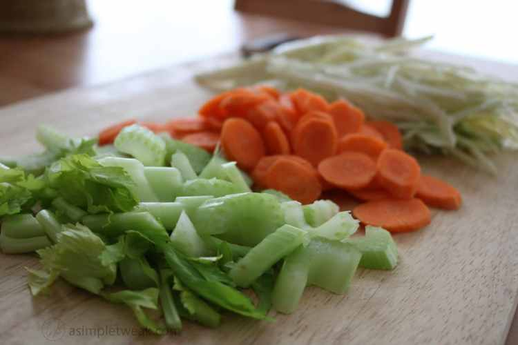 Celery, Carrots and Cabbage