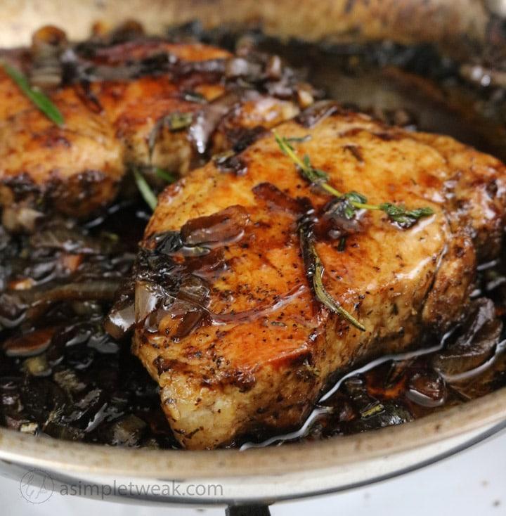 Balsamic-glazed-chops