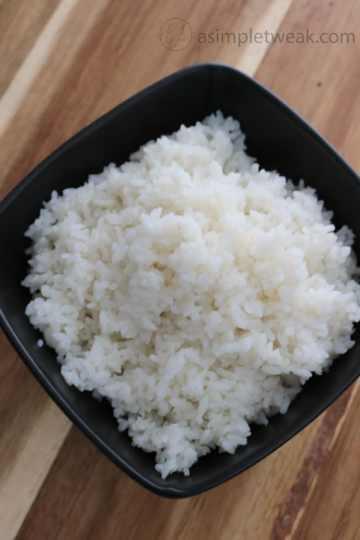 homemade rice