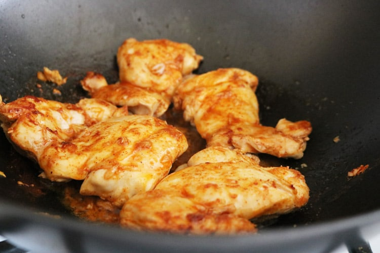 Pan seared-chicken-thighs
