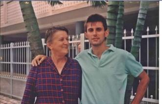 eu e mãe