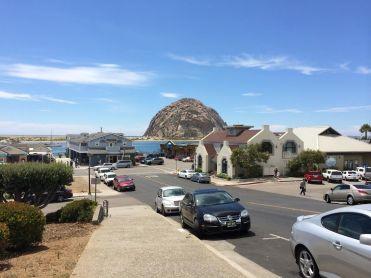 The embarcadero and Morro Rock