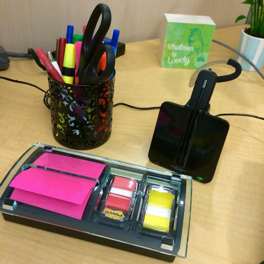 Pencil Holder/Sticky Notes