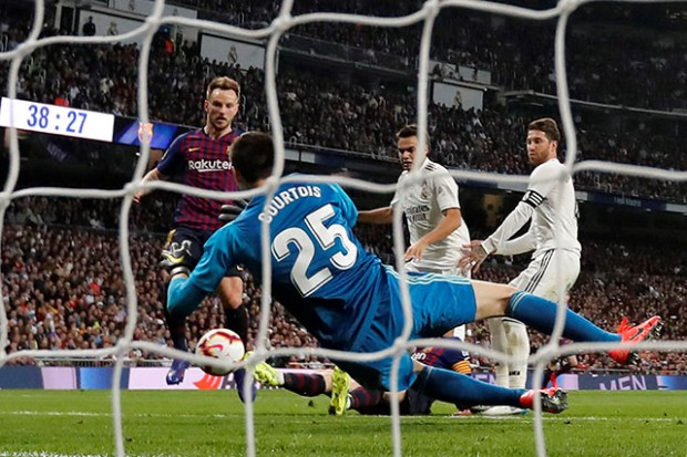Rakitic Barselona Real Madrid