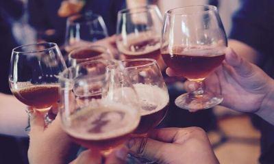 Nazdravljanje sa pivom