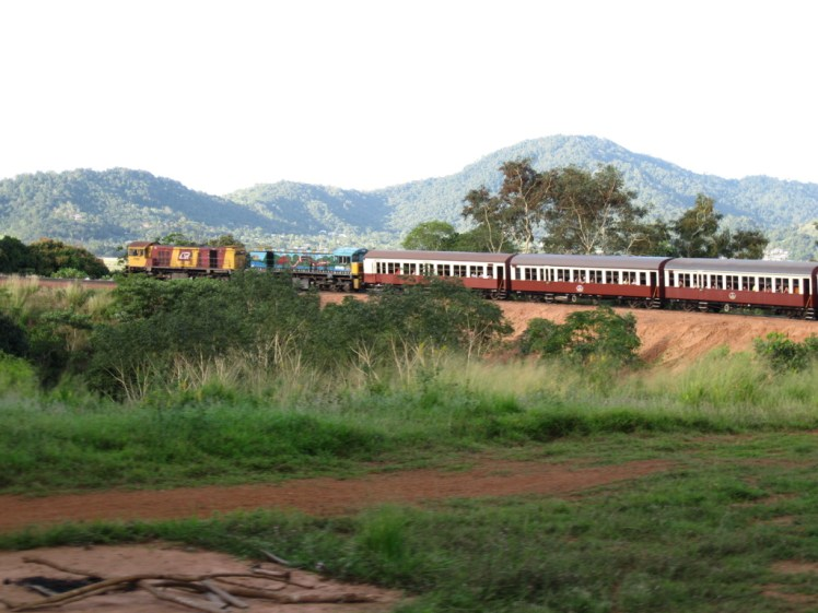 Train from Kuranda