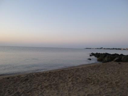 Dawn at Giardini-Naxos is pure serenity