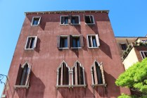 Classic Venetian style windows. One look and you can guess one is in Venice or the region Veneto.