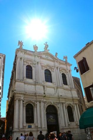 Scuola Grande di San Teodoro, where one can catch fantatic opéra performance by I Musici Veneziani orchestra
