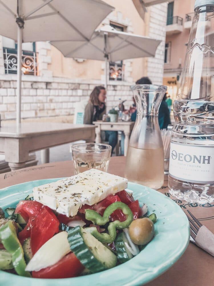 Corfu, Greece Restaurants