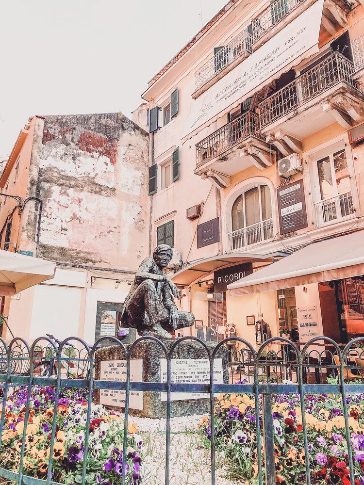 Statues of Corfu, Greece