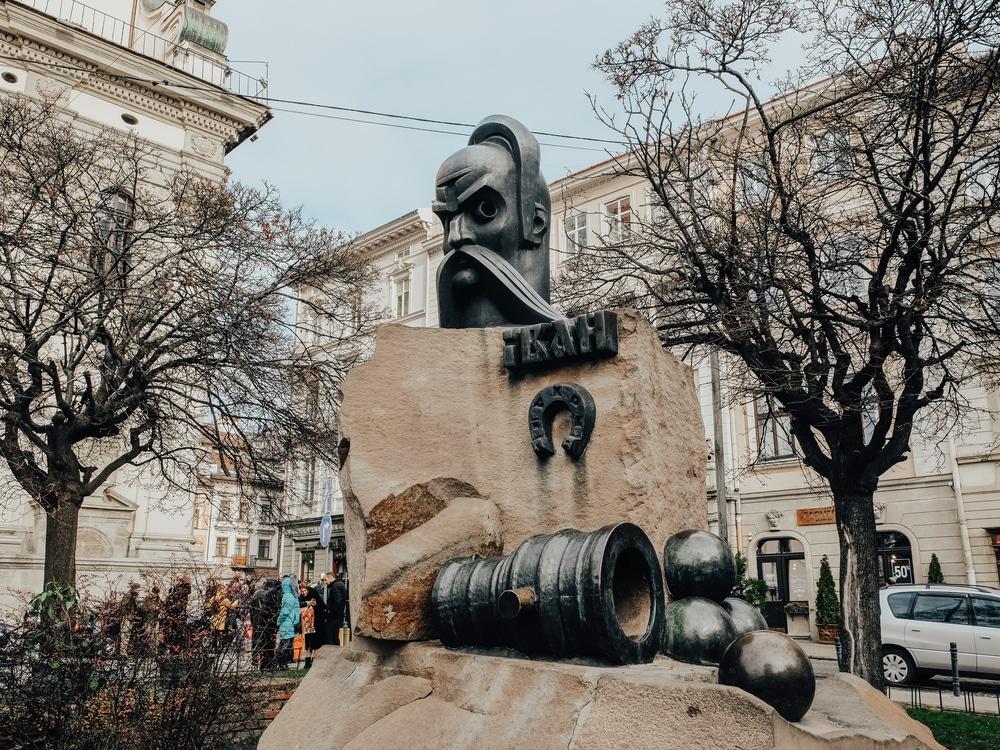 Statues in Lviv
