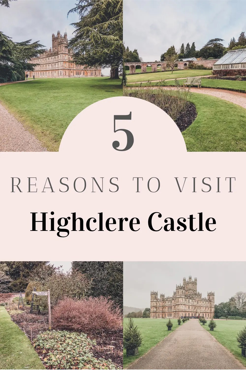 Pin for Highclere Castle