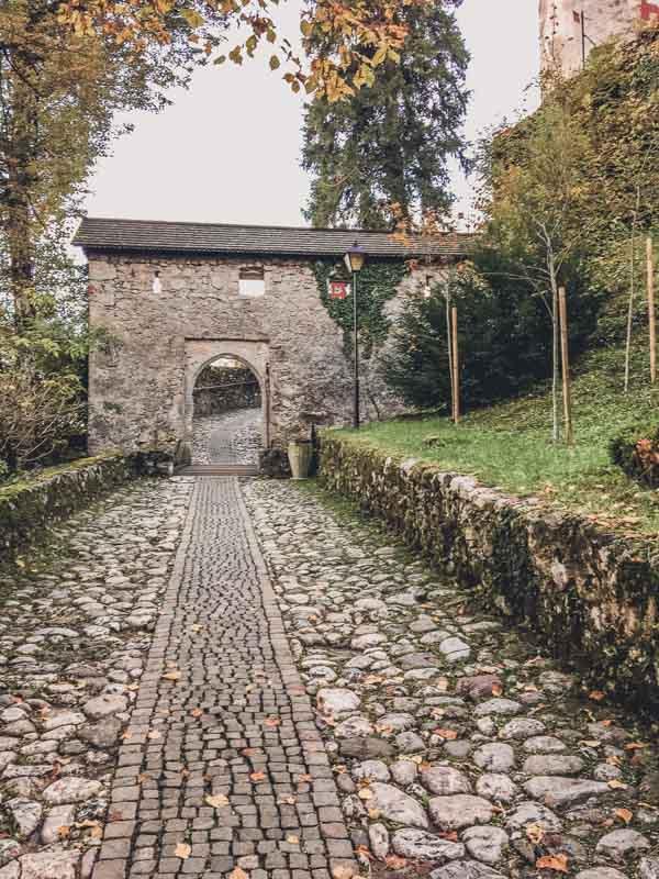 Lake Bled Castle Gate