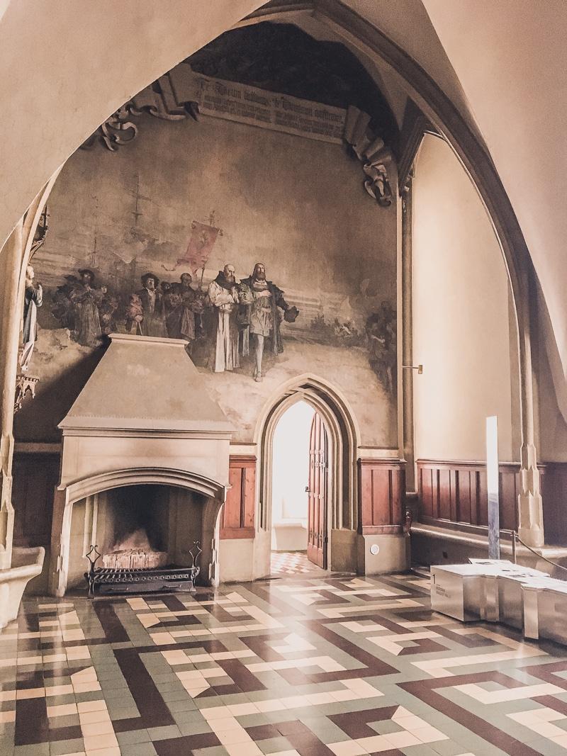 Fireplace Inside Albrechtsburg
