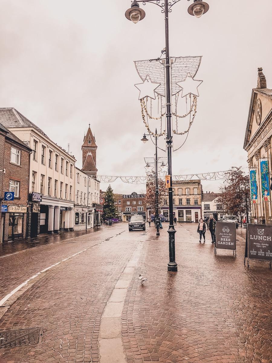 Newbury UK Streets