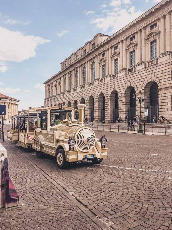 Gold Train Car in Verona